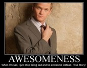 what to do with awesomeness