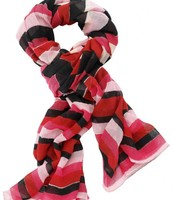 Palm Springs Scarf - Red/Multi $59 Sale $29