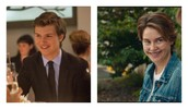 Augustus Waters and Hazel Grace (pictures from movie)