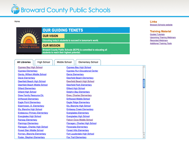 BCPS Online Databases 2014-2015   Smore Newsletters