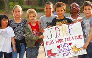 JDRF Kids walk for a cure!