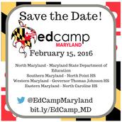 Edcamp Maryland 2016