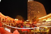 Encore Beach Club at Night Grand Opening! 5/1/14