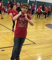 Evan having fun!