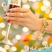 Dazzling new bracelets in two styles.