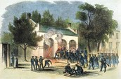A picture of the battle (in colour).