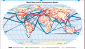 World Transportation Map