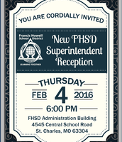 New Superintendent Reception