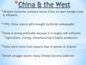 Chinese reject British trade 1793