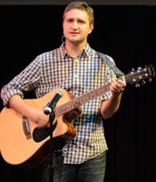 Me performing at a vocal recital