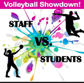 MS Staff Volleyball Game - Tuesday, May 17