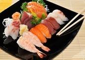 Sushi And Sashimi!