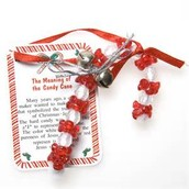 Jesus is the Reason Candy Cane Ornaments