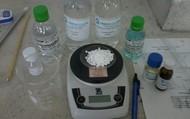 Componentes Para producir la crema.