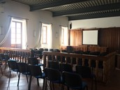 Pictures of some classrooms in Italy!