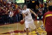 Iowa state basketball game