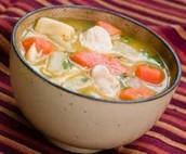 Cubano Sopa de pollo