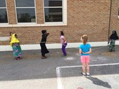 Respectful Students Playing Together