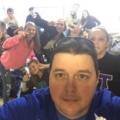 MegaLunch Selfies with Coach Adams