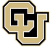 #1 Colorado University