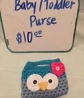 Baby/ Toddler Purse $10