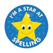 First Spelling Test Friday September 23rd