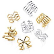 All of these rings are $29 and best sellers, with adjustable sizing to fit anyone. On trend and perfect stocking stuffer!
