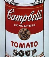 Campbell's Soup Cans (1962) Artist: Andy Warhol
