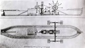 blue prints of Steamboat