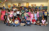 Students dressed as their favorite book character!
