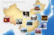 Major Cities in China
