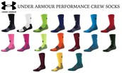 Under Armour Adult UA Performance Crew Socks