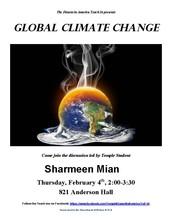 Global Climate Change Teach-In
