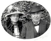 Thomas and Mina Edison