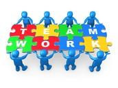 Team work is the key