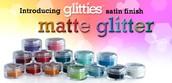 Glitties Matte Glitter