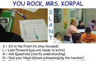Ms. Korpal-Uses Slant!