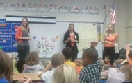 UVA nutritionists talking about healthy food choices!