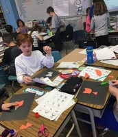 Making fraction animals!