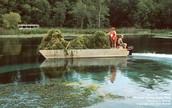Clogging waterway