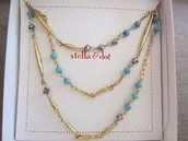 Pamela Layering Necklace - Turquoise