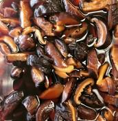 Soy-Pickled Shiitake Mushrooms