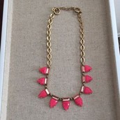 Eye Candy Necklace- Hot Pink-SOLDTOMARSHAY