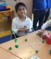 Mihir makes his own 3D shape