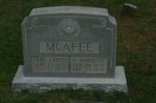 Nathaniel Ambrose McAfee Death