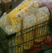 That's a lot of buttery popcorn!