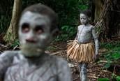 Mbuti or Bambuti Children