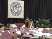 Giving the Commencement Address Seaholm High School, 2011