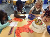 Mrs. Ellison's Students Engaged in Authentic Writing