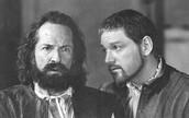 Iago telling Barbantio that desdemona is with Othello